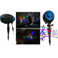Wholesale Outdoor Christmas Laser Lights by ABS Material made black house for Holiday decoration from china suppliers