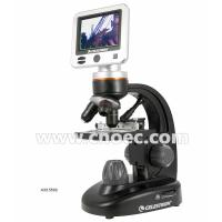Wholesale Triple Nosepiece Digital LCD Microscope , Portable 40x Microscope A33.5502 from china suppliers