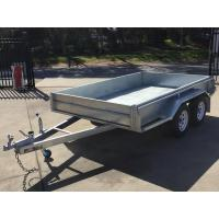Quality 10x6 Hot Dipped Galvanized Tandem Trailer 2000KG for sale