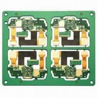 Buy cheap 4-layer Rigid-flex PCB with Minimum Hole Size of 0.2mm from wholesalers