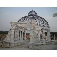 Buy cheap Outdoor Garden Deco stone carving marble gazebo, china marble sculpture supplier from wholesalers