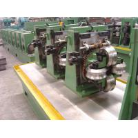 Wholesale Round Pipe Steel Bar Making Machine , High Frequency Straight Seam Tube from china suppliers