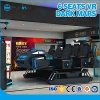 Wholesale 6 Seats 3.8KW Adventure Virtual Reality Game Machine / 9D Dynamic Vr Cinema from china suppliers