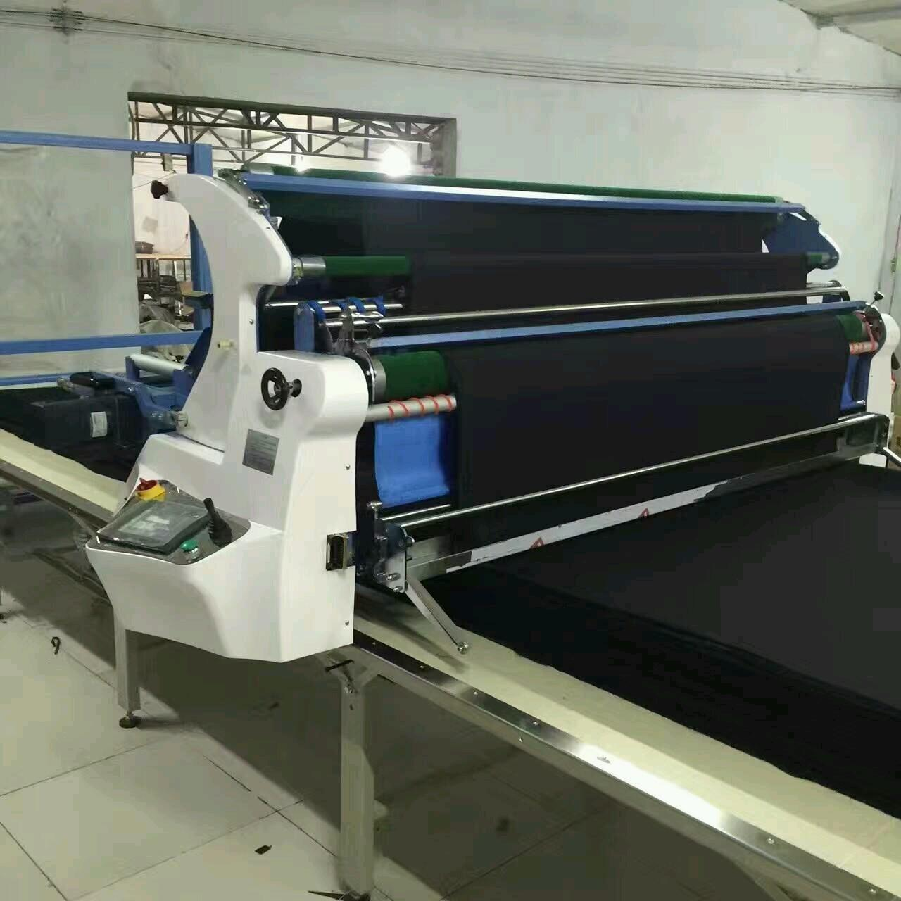 Wholesale Customized Knitted Fabric Spreader / Spreading Machine LCD Touch Control from china suppliers