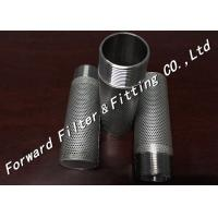 Wholesale Custom Industrial Filter Cartridge / 304 409 316L Perforated Tube Core For Oil Chemistry from china suppliers