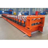 Wholesale Color Steel H75 Floor Metal Deck Roll Forming Machine / Roll Former Operations Safety from china suppliers