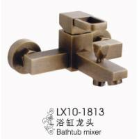 Wholesale Euro Style Wall Mounted Square Bathtub Mixer from china suppliers