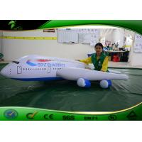 Wholesale Colorful LED Inflatable Rc Blimp / Airplane Full Printing 3m Long Flying Toy For Kids from china suppliers