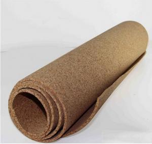 Quality Flooring heat insulation,1~12mm thickess cork roll/cork underlay for sale