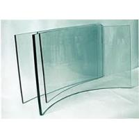 Wholesale 4mm ultra - white high surface smoothness annealed clear curved tempered glass properties from china suppliers