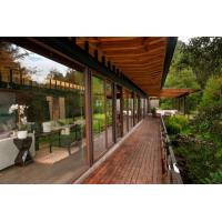 Wholesale WPC pavilion New type of outdoor anticorrosive won a solid wood Garden pavilion from china suppliers