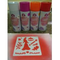 Wholesale Non Toxic Washable Chalk Spray , Landscaping Use Water Removable Spray Paint from china suppliers
