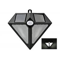 Wholesale Wall Solar Powered Wireless Pir Motion Sensor Light Triangle Shape from china suppliers