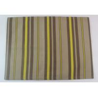 Wholesale 100% Cotton Printed Stripe 250gsm Canvas Dining Table Mats for Home from china suppliers