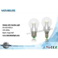 Wholesale 5W G50  Led Bulbs Global Led Candle Bulbs 420 - 450 lm CRI 80Ra from china suppliers
