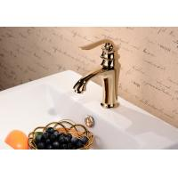 Wholesale Bathroom accessories chrome plated brass single handle bathroom faucet from china suppliers