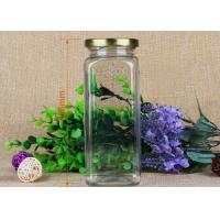 Wholesale 176mm Square Food Grade Clear Pet Jars Coffee Tin PP Lids Pet Plastic Jars from china suppliers