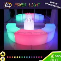 Wholesale Event&Party Furniture RGB Color Chaning led snake stool from china suppliers