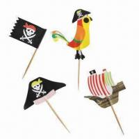 Quality Pirate Sign Toothpick, Best Party Gift, Funny for sale