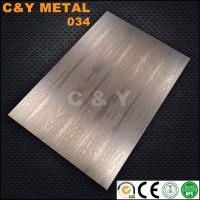 Wholesale CY-034 Hot Sale Decorative Stainless Steel /etched, hairline and LIC bronze Sample Free from china suppliers