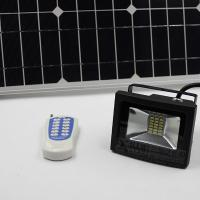 Wholesale 6w RF remote solar led flood light, dimmable solar led floodlight from china suppliers