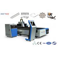 Wholesale 0.5~5MM Stainless Steel Laser Cutter Machine , Laser Cutting Machine For Metal from china suppliers
