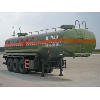 Wholesale Three Axles Tank Truck Trailer 35000 Liters Fuel Tank Semi Trailer For Oil Storage from china suppliers