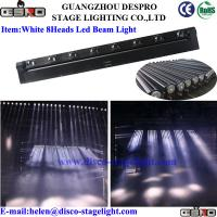 Wholesale White Color LED Moving Head Beam Light Theatre Stage Effect Lighting from china suppliers