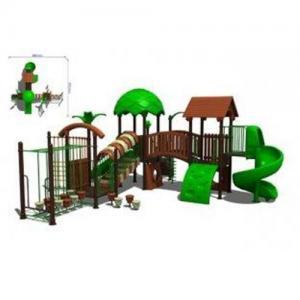 OEM Kids Outdoor Amusement Park Play Equipment for Preschoolers