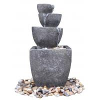 Wholesale Wonderful 4 - Tier Water Fountains , Outdoor Tiered Water Fountains For Backyard  from china suppliers