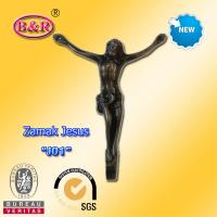 Wholesale Zamak Jesus Part Funeral Accessory Bronze Color Size 12.5*16cm Material Zinc Alloy from china suppliers