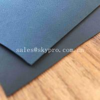 Wholesale 0.9mm Colored Glossy Rubberized Cloth Thick Neoprene Fabric , Airprene Fabric For Industry Boat from china suppliers