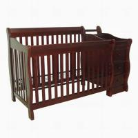 High quality durable New Zealand solid wooden baby crib baby cot baby bed