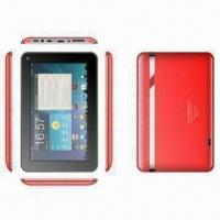 Wholesale Tablet PC with Android 4.0 OS and Built-in Microphone from china suppliers