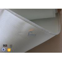 Quality 3732 0.4mm Satin Glass Fibre Cloth / Fire Resistant Fiberglass Fabric for sale