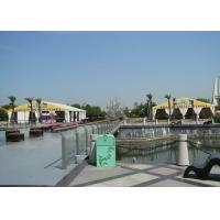 Wholesale Long Life Span Movable White Marquee Tent , 300 People Marquee Event Tent from china suppliers