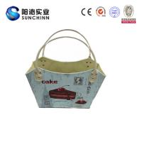 Quality Muticolored PU Leature Printing Magazine Holder/ Magazine Basket/Container /Handbag/Wooden Box for Storage for sale