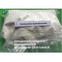 Wholesale 99% Antidepressant Drugs Vortioxetine Hydrobromide Raw Powder For Adult from china suppliers