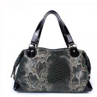 Wholesale women serpentine pattern leather handbags SSL from china suppliers