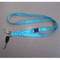 Wholesale wholesale sublimation print neck lanyards, tailor heat transfer lanyards with phone string from china suppliers