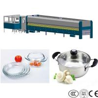 Wholesale Microwave Glass Cover Tempering Machine , Pot Lid Glass Tempering Furnace from china suppliers