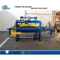 Buy cheap Hydraulic Automatic Cutting Tile Roll Forming Machine / Cut To Length Machine from wholesalers