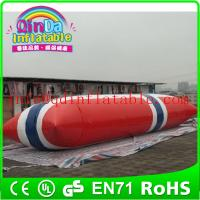Wholesale Inflatable Aqua launch PVC inflatable water games inflatable water tower from china suppliers