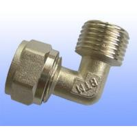 Wholesale compression brass fitting male elbow for PEX-AL-PEX from china suppliers