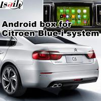 Wholesale Android 5.1 Car Navigation Box & Video Interface For 2016 Citroen C6 With Youtube Waze Rear View Etc from china suppliers