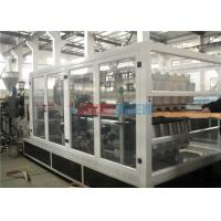 Wholesale Flat To Slope PVC Roofing Tile Making Machine 1300mm With Twin Screw Extruder from china suppliers