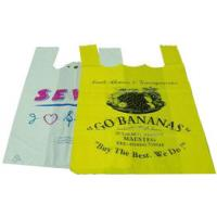 Wholesale Colorful Biodegradable Plastic Shopping Bags With Handles PE / PO Material from china suppliers