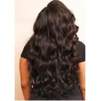 Wholesale 24inch Virgin Cambodian Hair Tangle Free Natural Black Jerry Curly from china suppliers