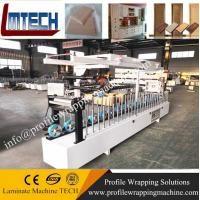 Wholesale PVC White Color Plastic Door Frame profile wrapping machine from china suppliers