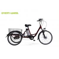 "Wholesale Pedal Assisted Electric Trike Bike 26"" Wheel Wave With Lithium Battery from china suppliers"